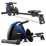 Hop-Sport Rudergerät Boost Ruderzugmaschine mit Computer & Magnetbremssystem