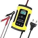 URAQT Batterie Ladegerät Auto, 6A 12V Batterieladegerät Auto Erhaltungsladegerät mit...