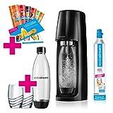 SodaStream Easy PROMOPACK Wassersprudler zum Sprudeln von Leitungswasser, ohne schleppen!  mit 1...