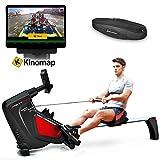 Sportstech Rudergerät RSX500 mit Smartphone steuerbar - Pulsgurt im Wert von 39,90 inkl. - Fitness...