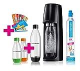 SodaStream Easy Wassersprudler-Set Vorteilspack mit CO2- Zylinder, 1 L PET-Flasche, 2x 0,5 L...
