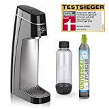 Soda Trend Style Wassersprudler-Set inkl. PET-Flasche (ca. 850 ml Füllmenge) + CO2-Zylinder für...