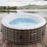Arebos Whirlpool Granada | Aufblasbar | In- & Outdoor |...