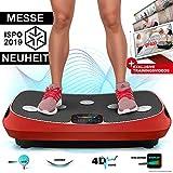 Messe-Neuheit 2019! 4D Vibrationsplatte VP400 mit einmaligen Curved Design, Color Touch Display,...