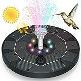 AISITIN Solar Springbrunnen 2021 Upgrade, 3.5W 180mm...