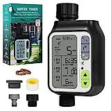 Bearbro Bewässerungscomputer,Automatische Wasser Timer...