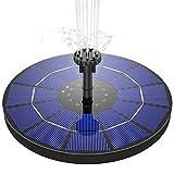 AISITIN Solar Springbrunnen 3.5W Solar Teichpumpe mit...