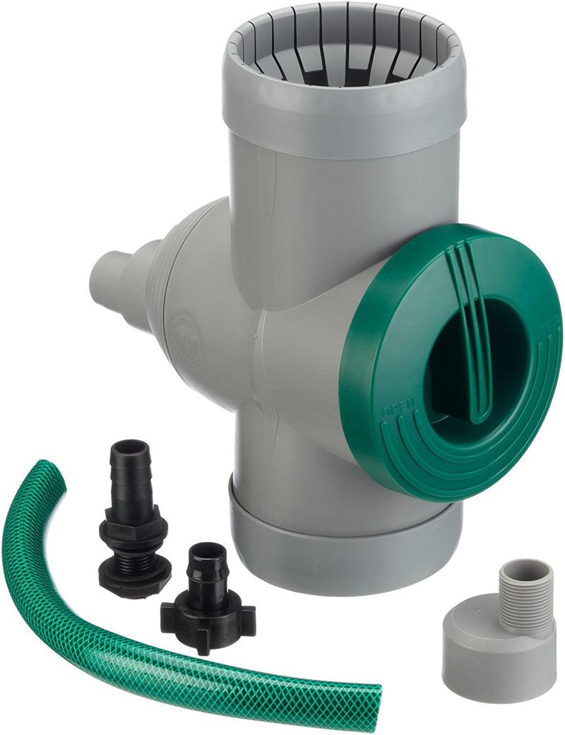Regensammler - Regenwasserfilter - Fallrohrfilter