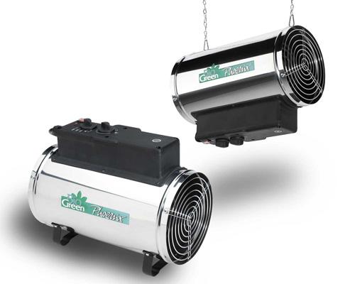 Gewächshausheizung Frostwächter mit Thermostat Test Gas Petroleum Solar elektrisch