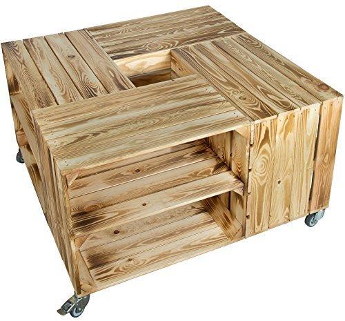 Favorit Holzkisten Tisch: Weinkisten / Obstkisten Tisch kaufen oder selber YZ16
