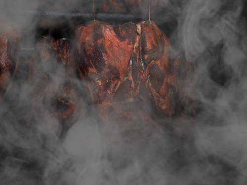 Fleisch räuchern