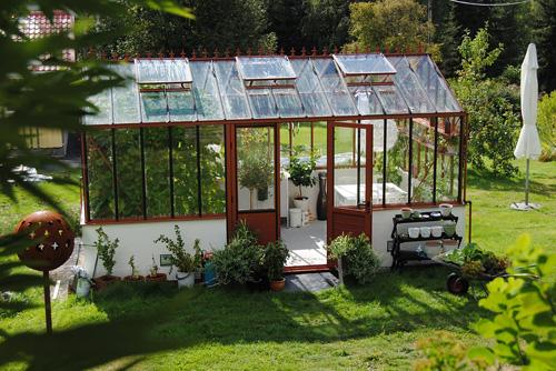 Gewächshaus für den Garten kaufen