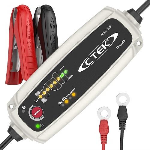 CTEK Autobatterie Ladegerät MXS 5.0 KFZ Batterieladegerät