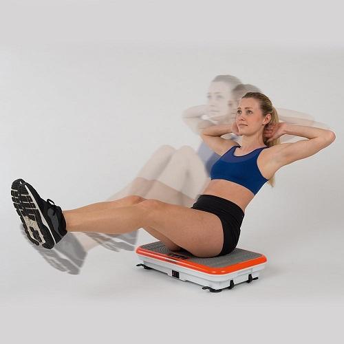 Vibrationsplatte Vibrationstrainer Übungen